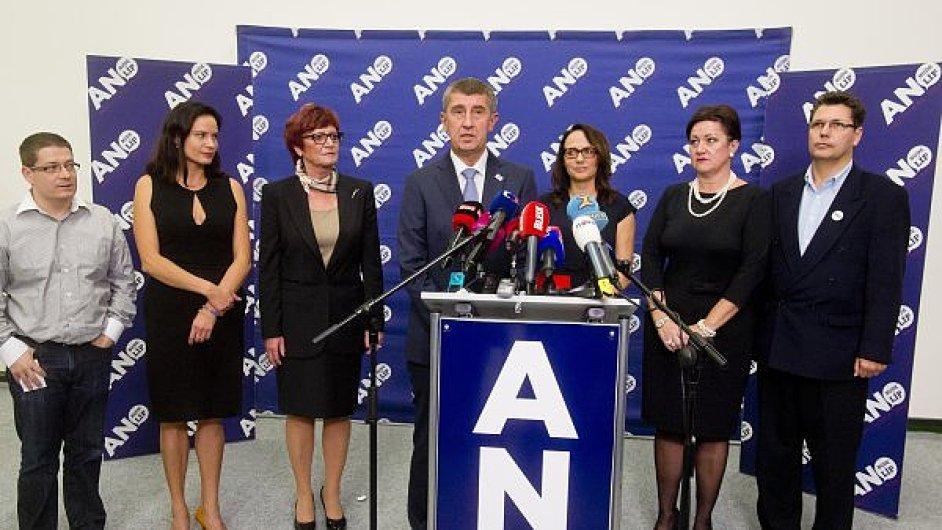Tisková konference ANO