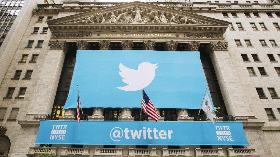 Akcie Twitteru po oznámení slabšího výhledu na další kvartál strmě propadly - Ilustrační foto.