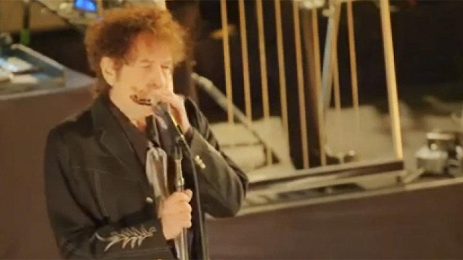 Bob Dylan při koncertě pro jediného fanouška