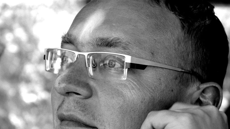 Na snímku literární vědec Karel Piorecký.