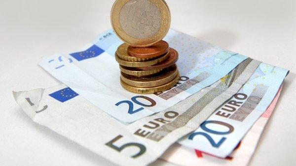 Euro, eura, ilustrační foto