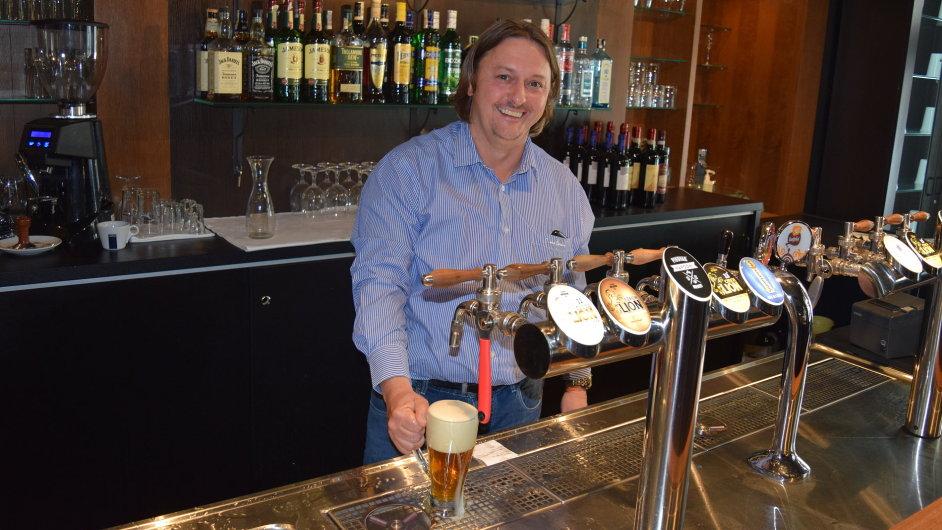 Jan Mužátko v novém pivovaru