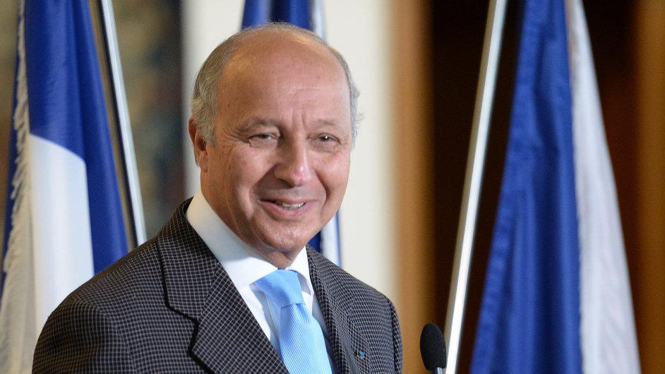 Francouzský ministr zahraničí Laurent Fabius vystoupili na pražském setkání se svým protějškem Lubomírem Zaorálkem.