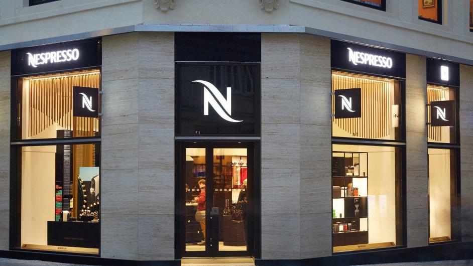 Nespresso otevírá novou pobočku v Brně.
