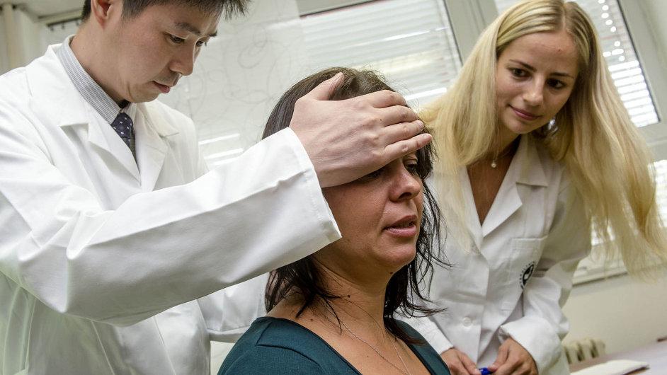 V ordinaci vedle českého internisty pracuje zatím jeden čínský expert.