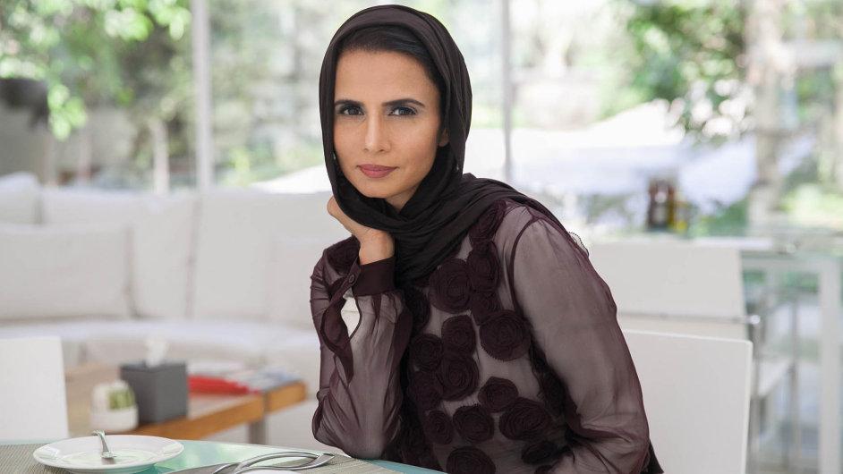 Propagátorka takzvané cudné módy Alia Khanová.