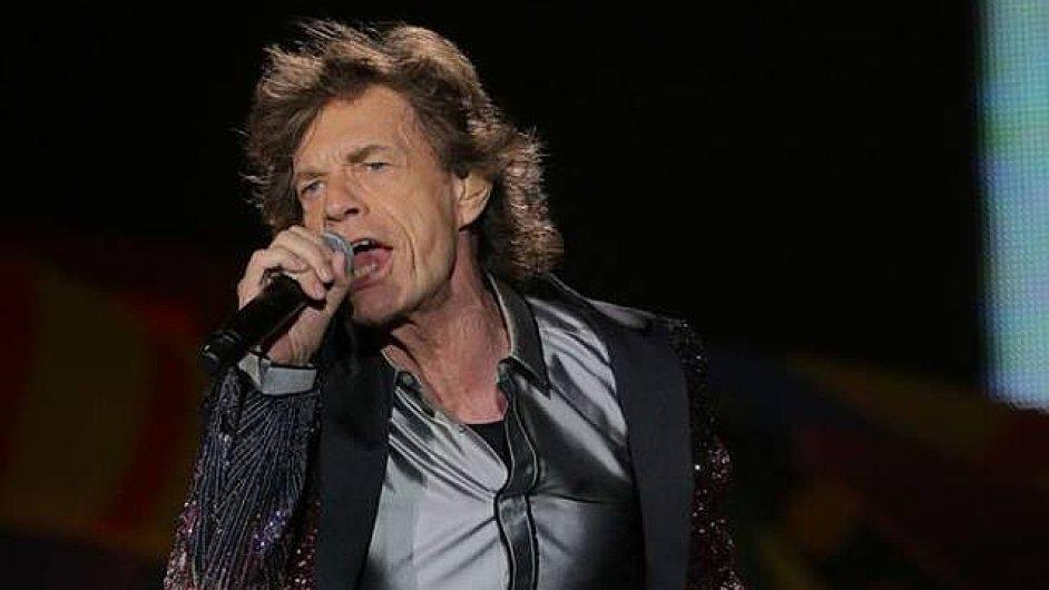 Mick Jagger (na snímku) s Rolling Stones tuto sobotu vystoupí v brazilském Sao Paulu.