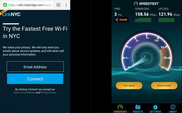 LinkNYC - bezplatná gigabitová Wi-Fi v New Yorku