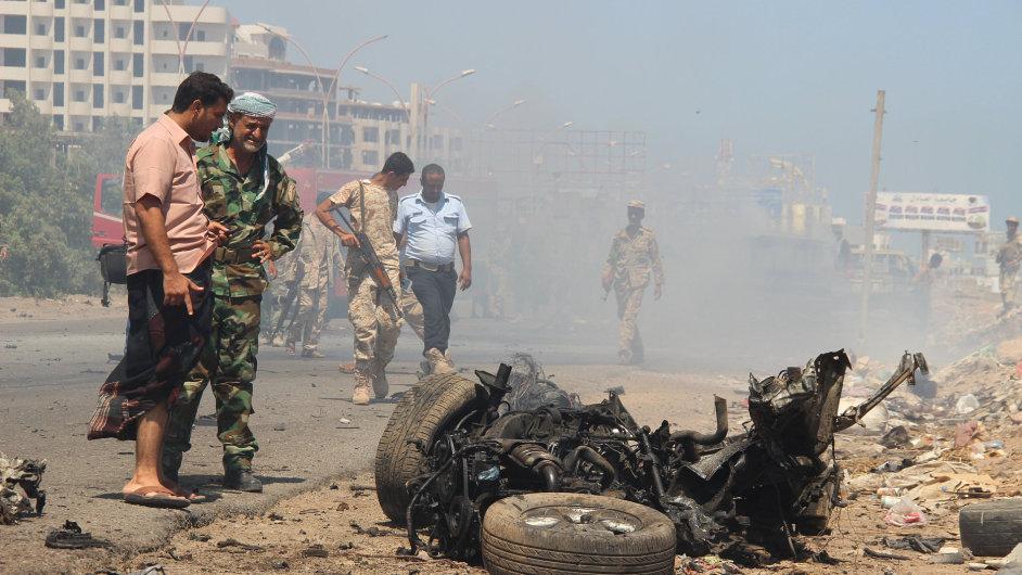 Při náletu v Jemenu zahynulo přes 30 lidí - Ilustrační foto.