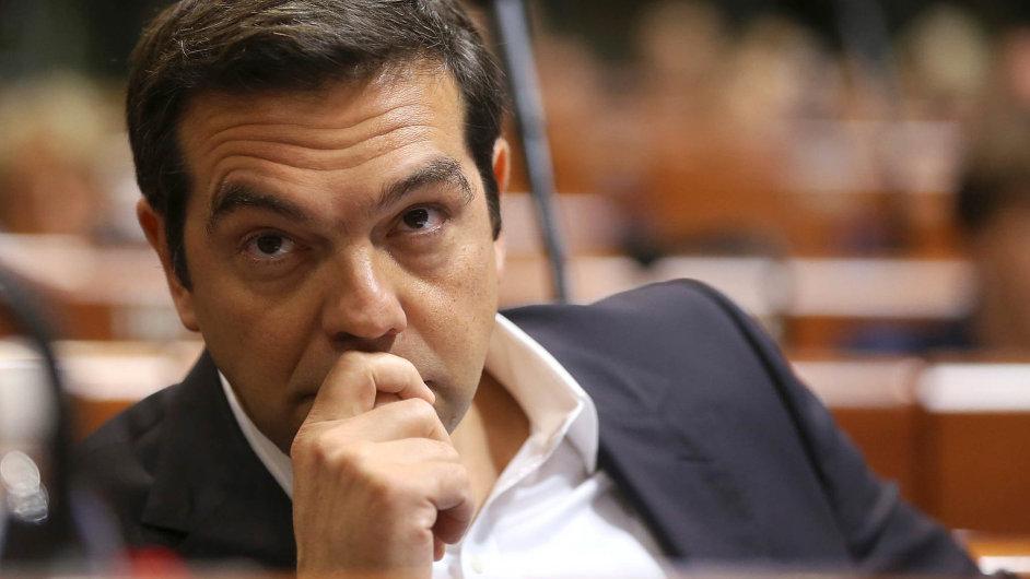 Řecký premiér avůdce krajně levicové strany Syriza Alexis Tsipras se ocitá vpodobné situaci jako jeho předchůdce Antonis Samaras.