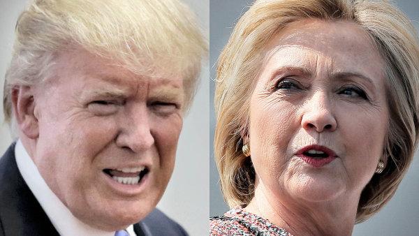 Z očí do očí: Kandidáti na úřad amerického prezidenta Hillary Clintonová a Donald Trump se poprvé utkají v tradiční televizní debatě.