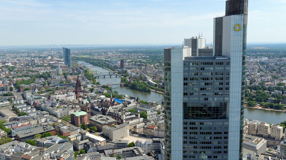 Commerzbank ve Frankfurtu