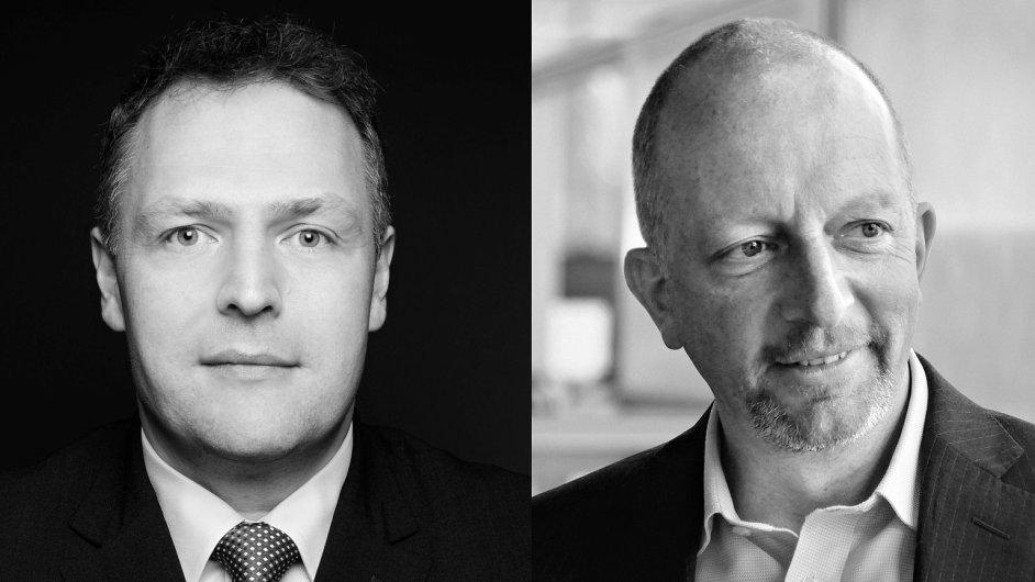 Klaus Burkart, ředitel střediska sdílených služeb a Andrew Chamberlain, Transformation Executive Director společnosti W.A.G. payment solutions (Eurowag)