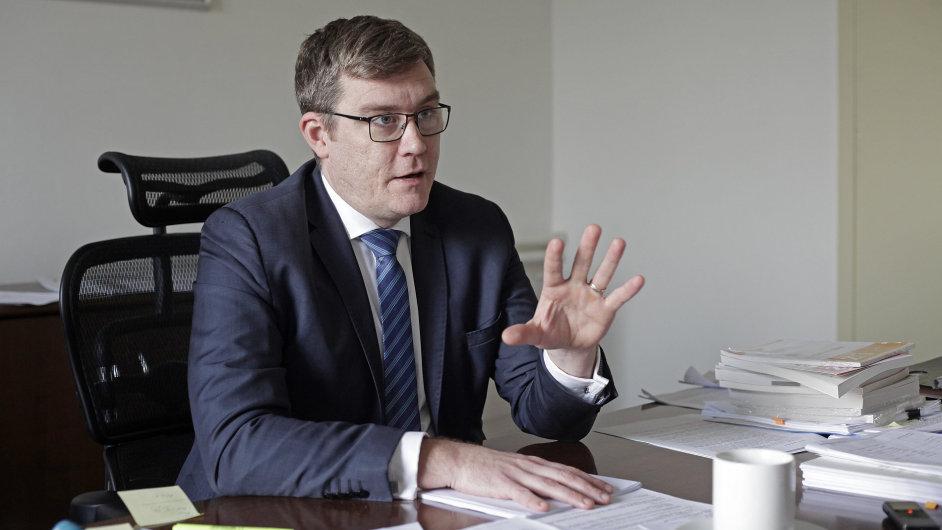Náměstek ministra financí Andreje Babiše Ondřej Landa.