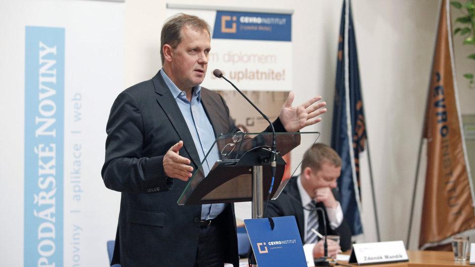 Šéf české televize Petr Dvořák