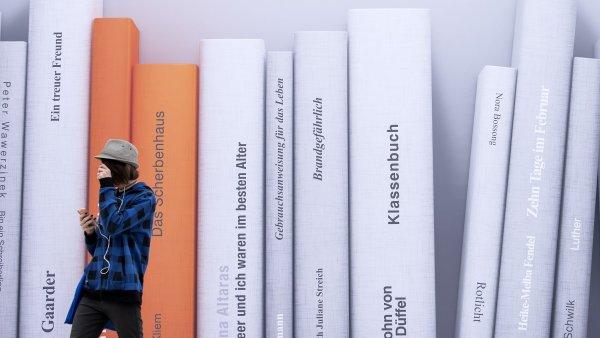 Snímek z letošního Lipského knižního veletrhu.