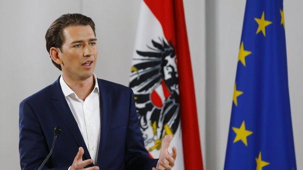 Předseda rakouských lidovců Sebastian Kurz navrhne předčasné volby.