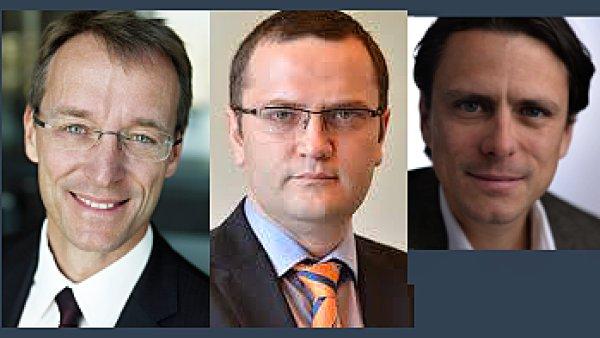Klaus Weis, Stefan Razvan Radu a Nik Van Dam jmenováni do vedoucích pozic v ING Bank ČR
