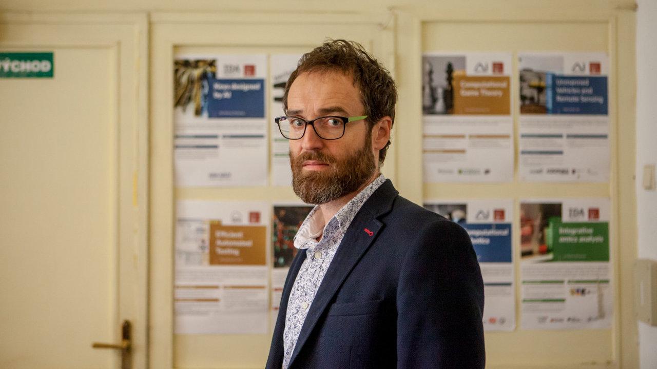 Michal Pěchouček, profesor na ČVUT, odborník na umělou inteligenci
