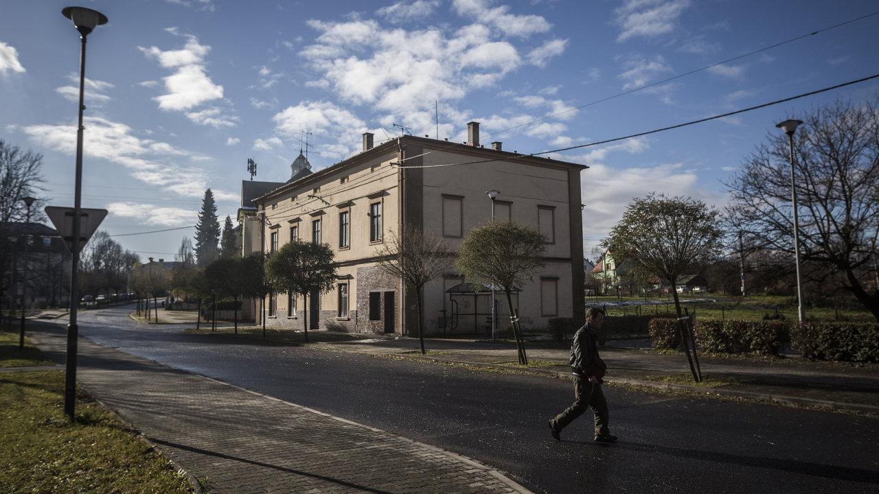 Obec Doubrava v Moravskoslezském kraji, kde při prezidentských volbách získal prezident Zeman největší procento hlasů z celé ČR.