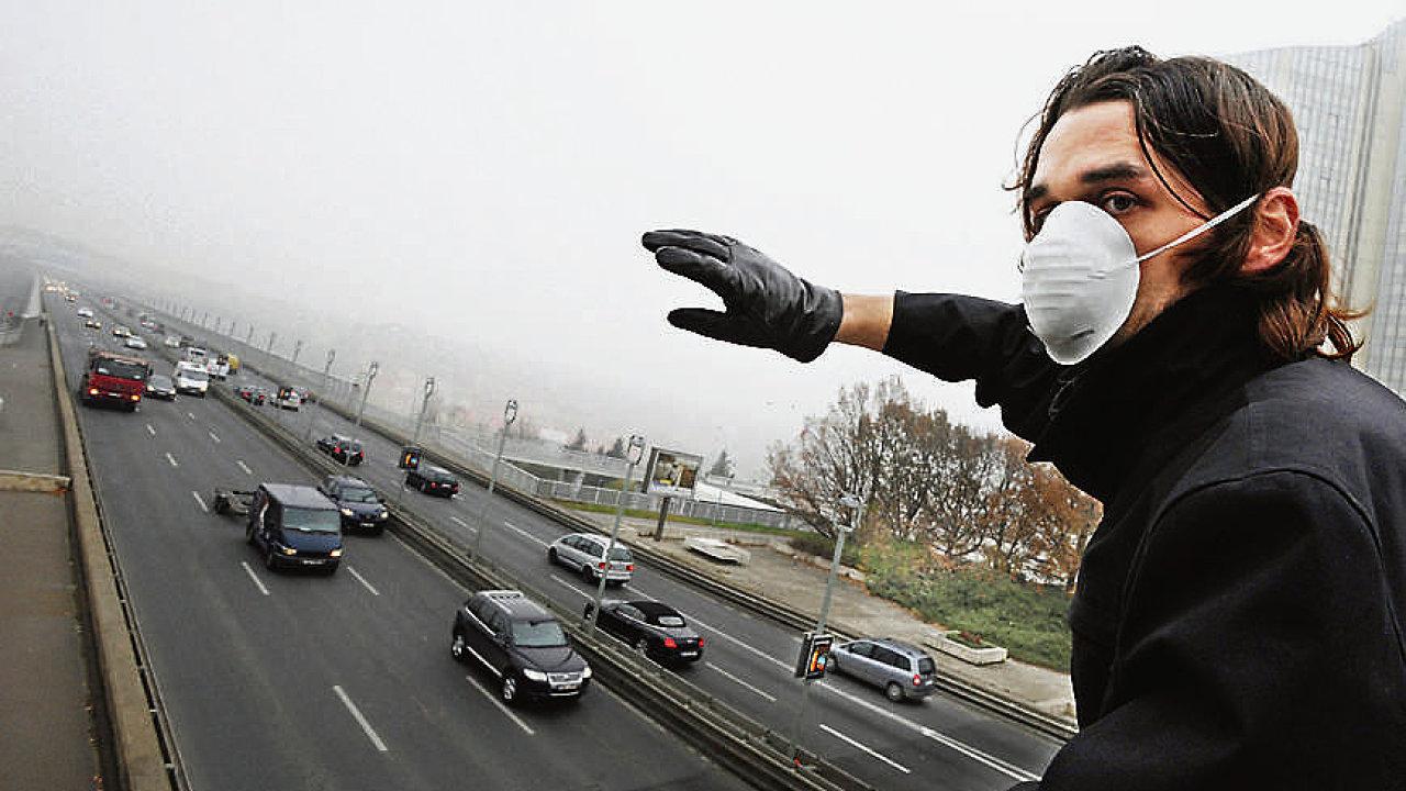 Smogový dýchánek v Praze
