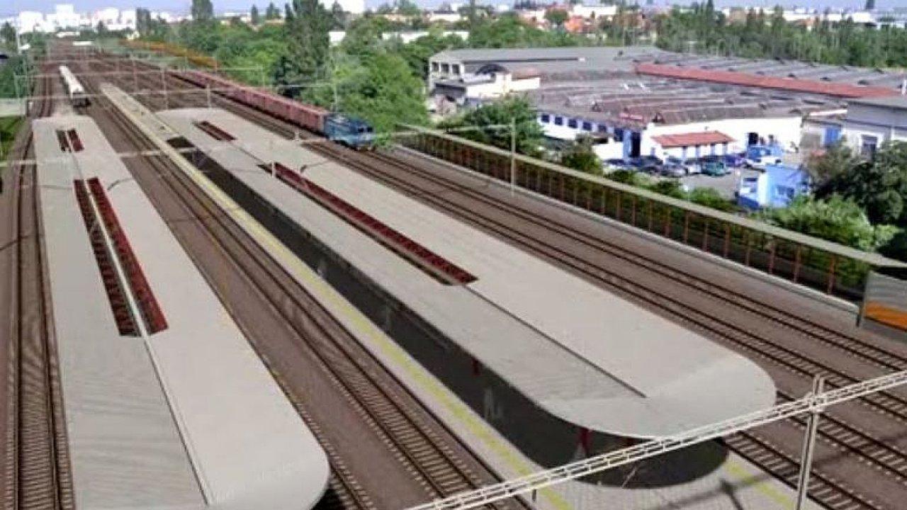 Největší železniční stavba v Praze přinese nové zastávky a rychlejší vlaky