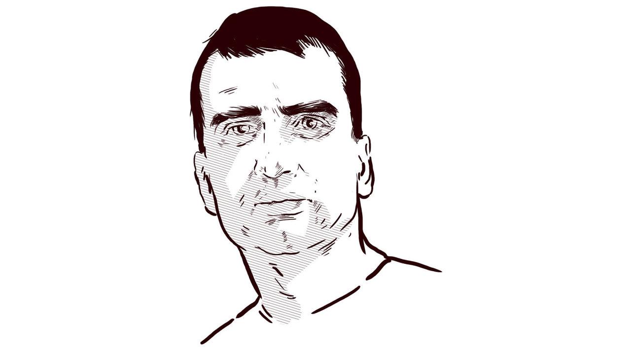 David Mařík, zástupce šéfredaktora týdeníku Ekonom
