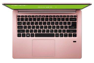 Acer Swift 1: Notebook s displejem bez rámečků, čtečkou otisků a obří výdrží skoro zadarmo
