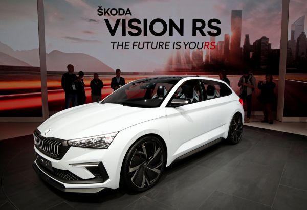 Představení Škody Vision RS proběhlo v začátkem října na pařížském autosalonu.