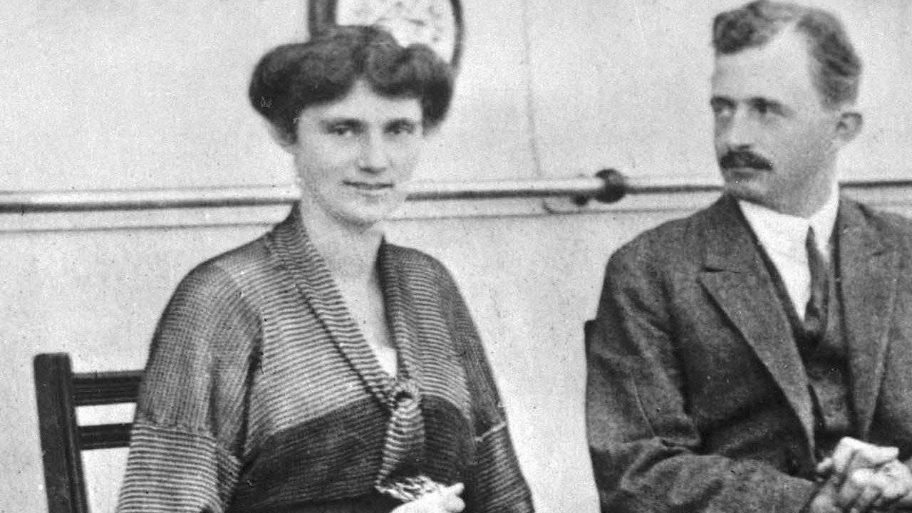 Císařovna Zita s manželem, posledním rakouským císařem Karlem Habsburkem.