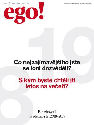 ego! 4. 1. 2019