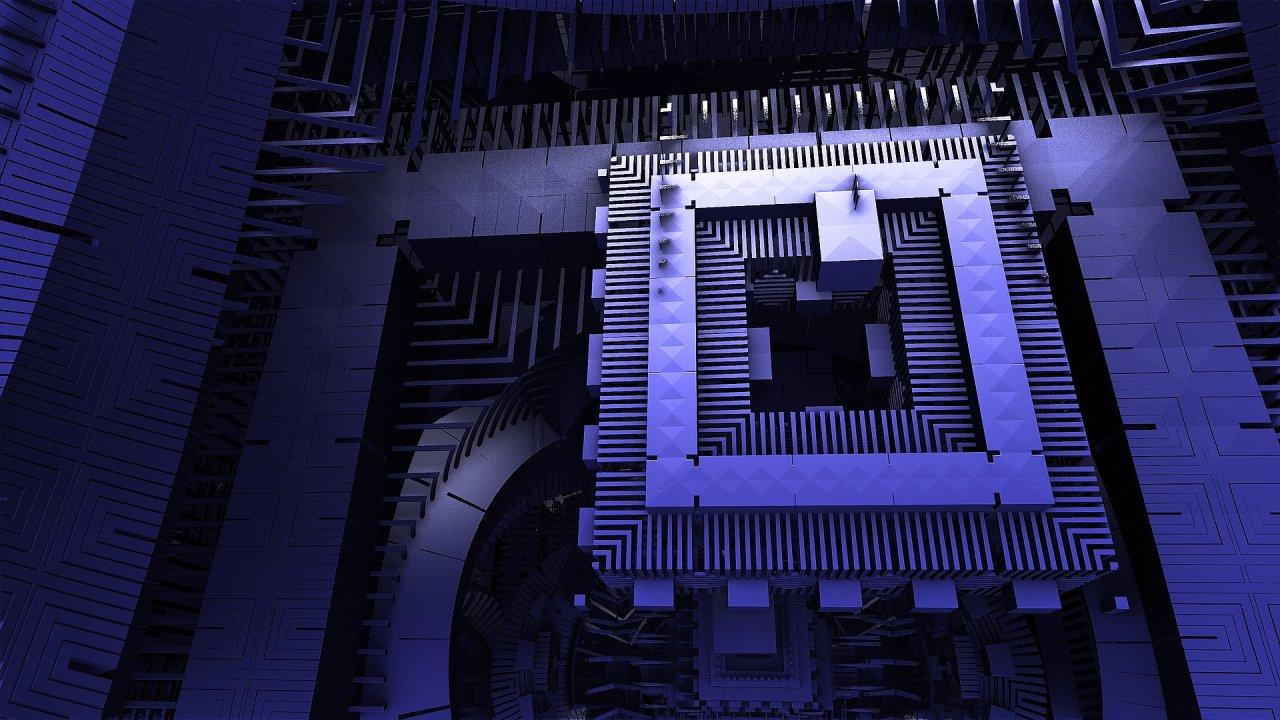 Kvantový počítač, ilustrace