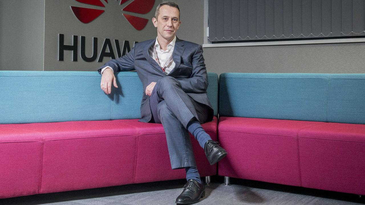 Radosław Kedzia - šéf české a slovenské pobočky Huawei.