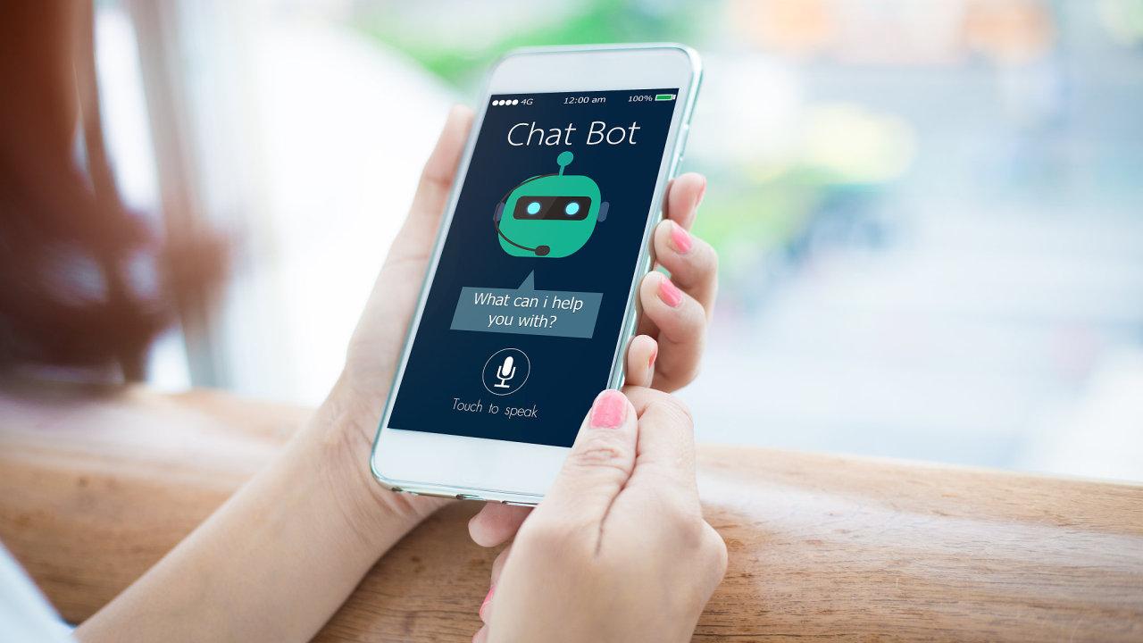 Chat bot, AI, umělá inteligence, aplikace, mobil, start-up