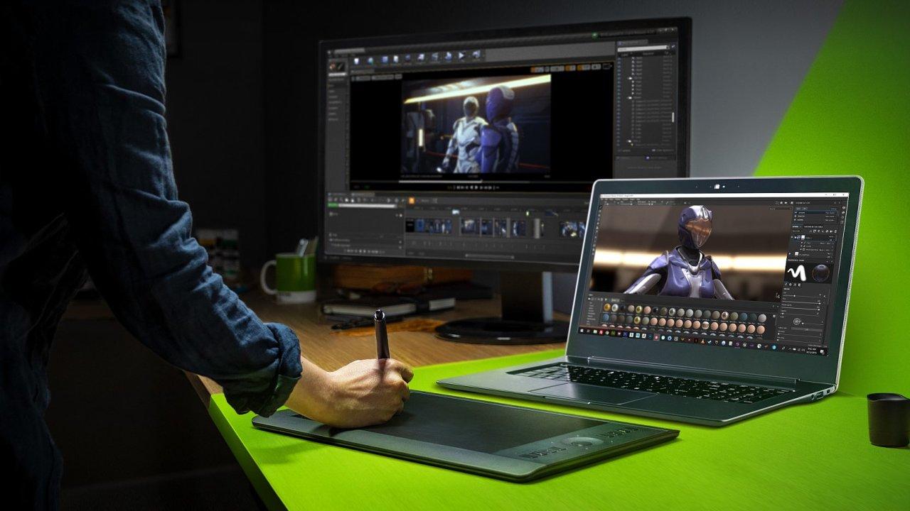 NVIDIA Studio je nová značka počítačů pro náročné uživatele.