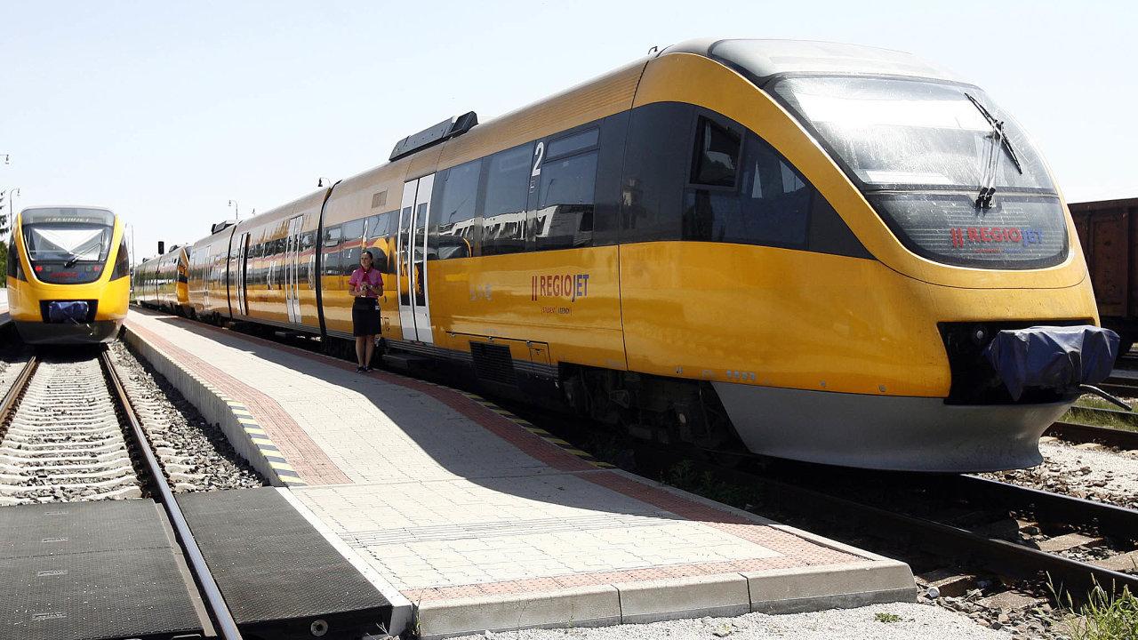RegioJet chystá nákup nových vagonů.