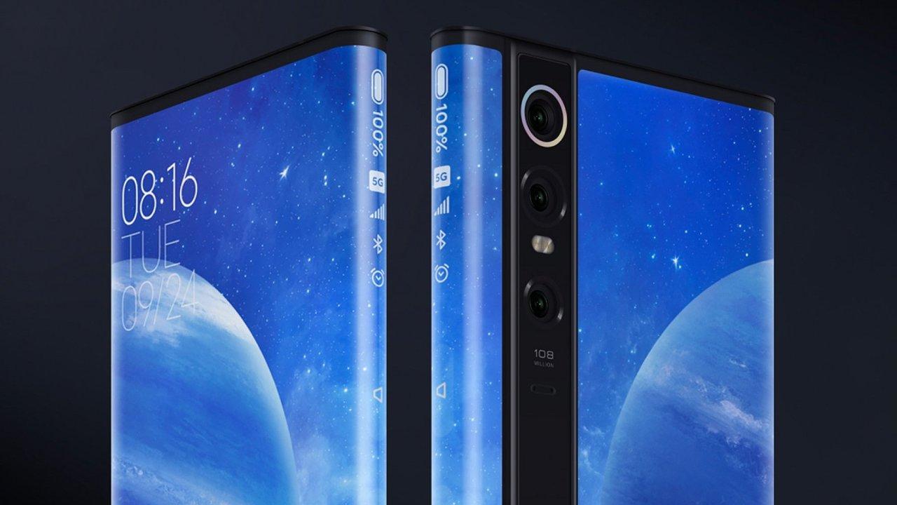 Xiaomi posouvá design telefonů novým směrem s další generací Mixu