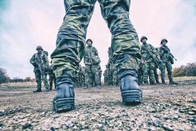 Dobrovolné vojenské cvičení ve Vyškově