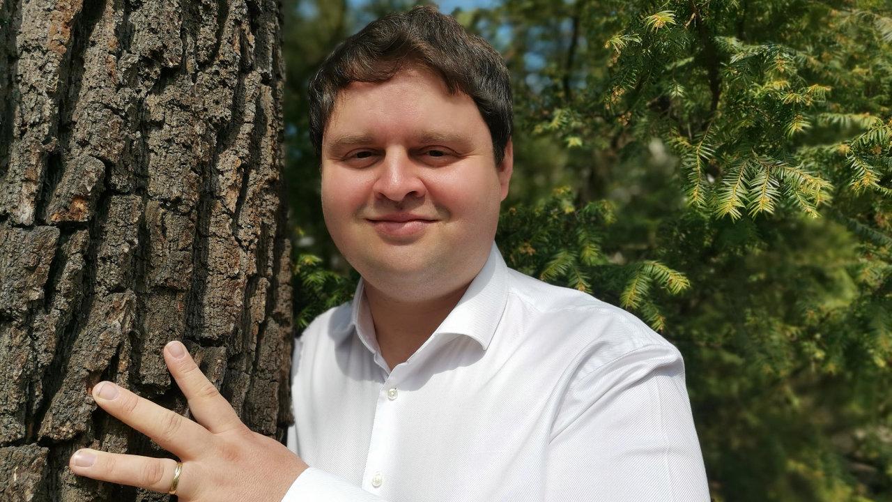 Nakladatel Václav Kazda má slabost pro italský měsíčník Architectural Digest.