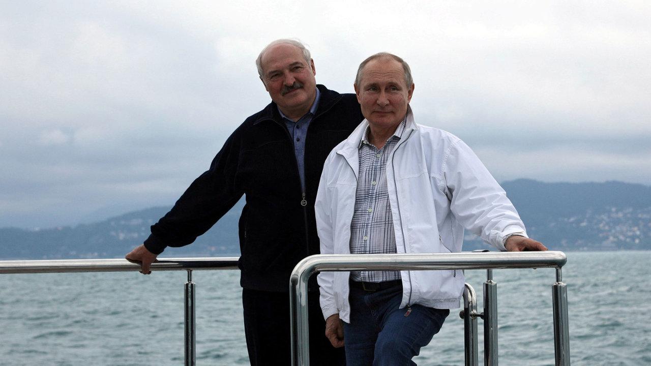 Vladimír Putin, Alexander Lukašenko, Soči