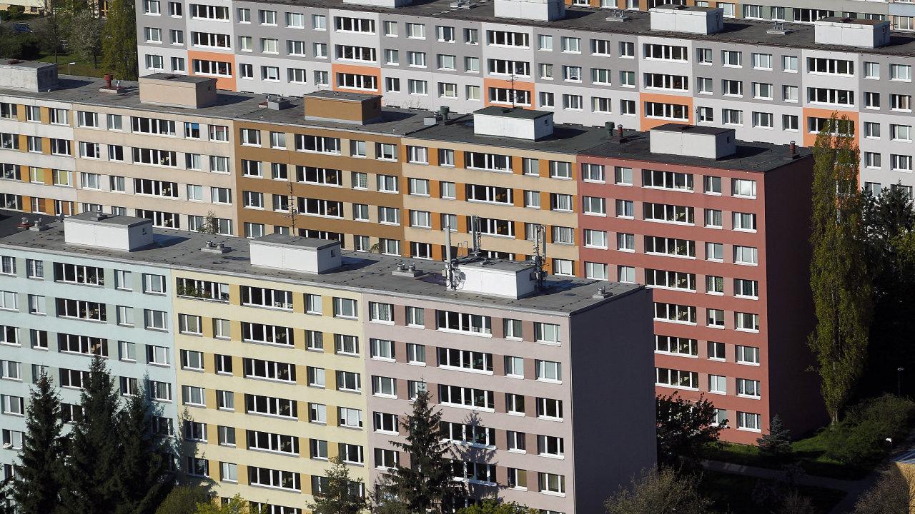 Sídliště Pankrác, byty, ceny bytů, Praha
