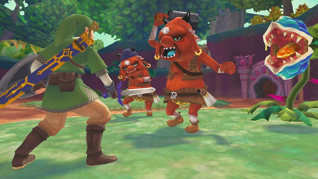 The Legend of Zelda: Skyward Sword HD si ve vylepšené verzi užije mnohem více hráčů