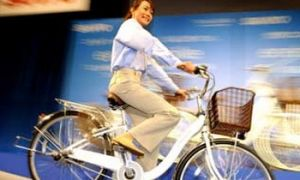 hybridní bicykl