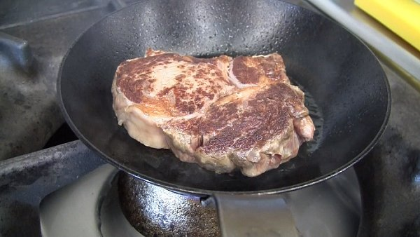 příprava steaku