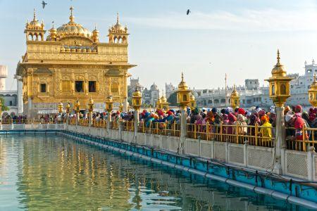 Zlat� chr�m, Amritsar, Indie