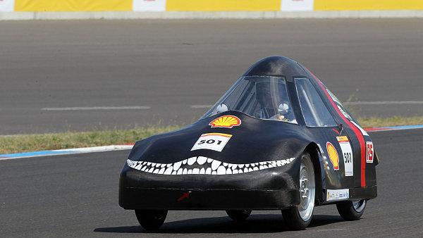 Z�vod �sporn�ch aut Shell Eco-marathon