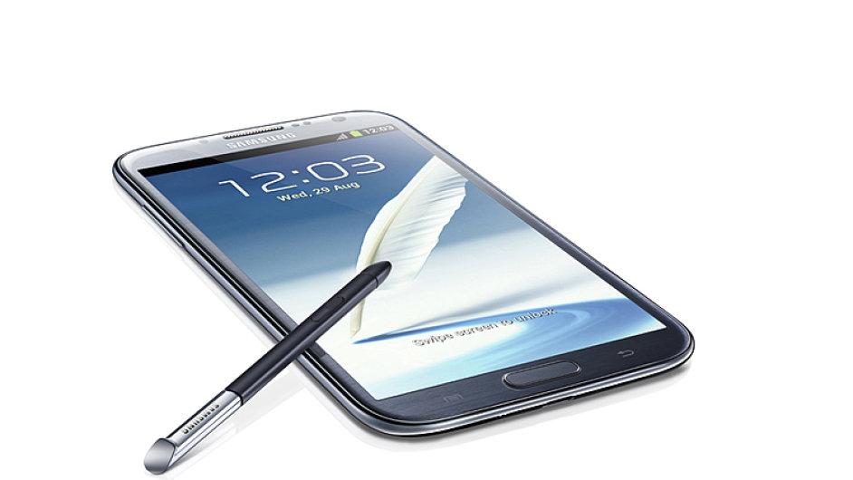 Uživatelské prostředí Galaxy Note II