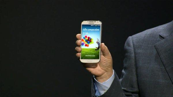 Představení telefonu Samsung Galaxy S4