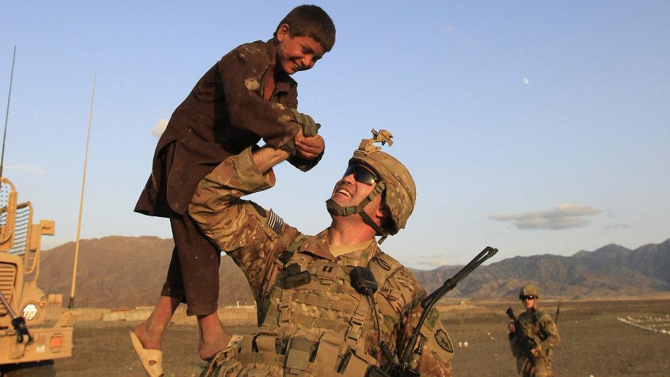 Ilustrační foto - američtí vojáci v Afghánistánu