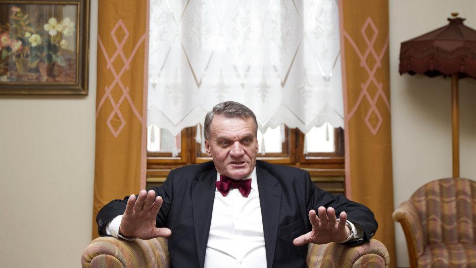 Pražský primátor Bohuslav Svoboda.